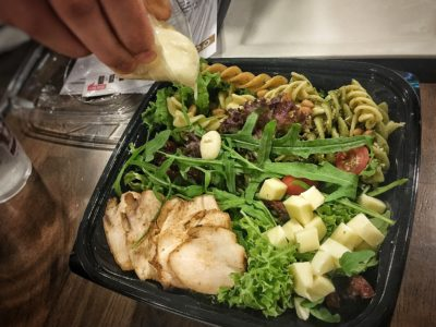O'Coffee Club Xpress @ Raffles Xchange, O'Coffee Club Launches 'Grab & Go' Concept – Chicken Pesto Salad