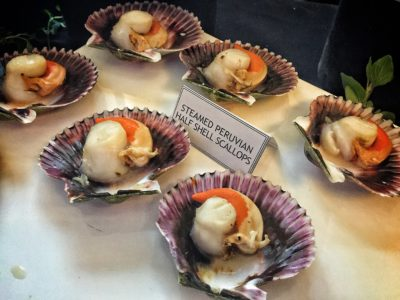 World Gourmet Summit 2017 – Awards of Excellence Presentation Ceremony and Opening Reception - Steamed Peruvian Scallops by Indoguna Ocean Gems
