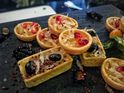 World Gourmet Summit 2017 – Awards of Excellence Presentation Ceremony and Opening Reception - Tarts made with Lee Kum Kee Sauce