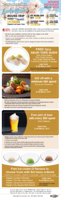 Japanese Restaurant Week 2017 Dine And Win Trip To Japan - JRWSG_eCoupon