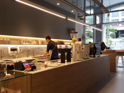 Local Coffee Roaster Dutch Colony Coffee Co At UE Square - A view