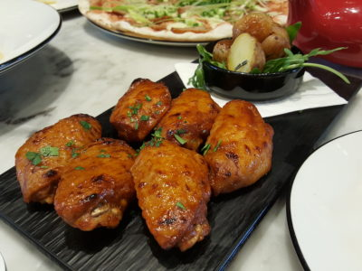 Pizza Marzano At Chatime, Pudong, Shanghai, China - Chicken Wings Spicy 香烤鸡翅辣味 (RMB 48 - 4pcs / 68 - 6pcs)