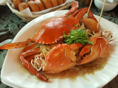Festival of Crab At Ah Hoi's Kitchen, Offering 10 Different Styles - Glass Noodle and Chinese Wine Crab