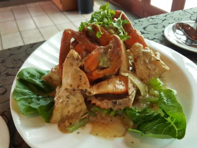 Festival of Crab At Ah Hoi's Kitchen, Offering 10 Different Styles - Creamy White Pepper Crab