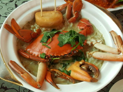 Festival of Crab At Ah Hoi's Kitchen, Offering 10 Different Styles - Claypot Crab Meehoon