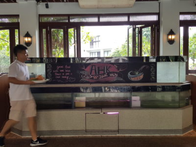 Festival of Crab At Ah Hoi's Kitchen, Offering 10 Different Styles - From the entrance