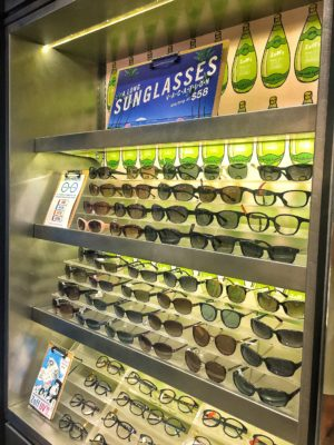 Leading Japanese Eye-wear Chain Zoff Flagship Store in Singapore At Orchard Central - Spectacles on Display (Sunglasses)