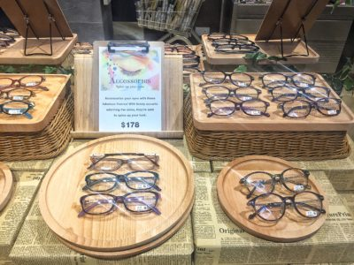 Leading Japanese Eye-wear Chain Zoff Flagship Store in Singapore At Orchard Central - Spectacles on Display (Accessories)