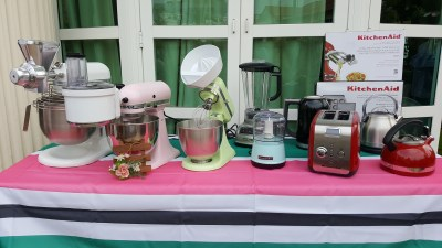 Kitchen Aid Mini Moment Garden Party For The Launch Of Kitchen Aid Mini Stand Mixer - Appliances