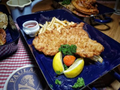 Paulaner Bräuhaus At Millenia Walk Reopens As Asia's New Model Flagship Store, Promenade Singapore – Pork Schnitzel (S$25.90++)
