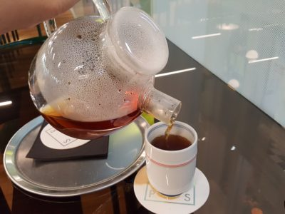 Steamroom with The Pillar and Stones (SRPS) At Orchard Central - Lapsang Souchong ($7.50)