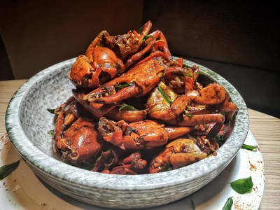 Spice Brasserie's Endless Crabs Party Dinner Buffet At Parkroyal On Kitchener – Stir Fried Crab in Asian Spices