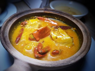 Spice Brasserie's Endless Crabs Party Dinner Buffet At Parkroyal On Kitchener – Slow-braised Pumpkin Crab in Claypot