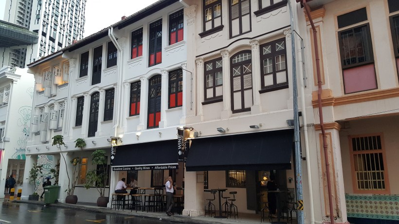 Wine & Chef At Keong Saik Road For Quality Wine At Wallet Friendly Price - Occupying unit 7 shophouse