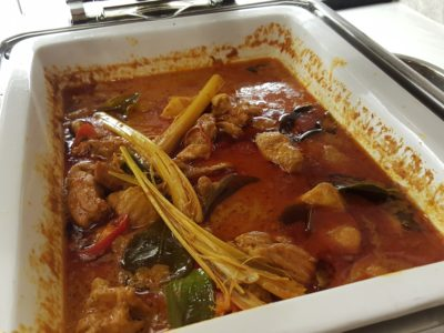 Peranakan Buffet At The Royale At Mercure Singapore Bugis Hotel - Chicken Curry With Potato