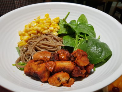 Green Croft At Galaxis Keeps Your Figure Slim But Your Wallet Fat, One North Singapore - Chicken Tandoori and Soba