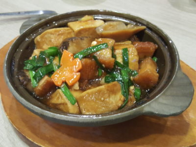 Crystal Jade Kitchen Refreshed Menu With More Cantonese Wok-Fried Dishes At Centrepoint - Braised pork belly with beancurd and chive 大马站煲 ($16.80)