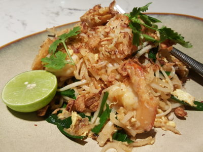 Blue Jasmine At Park Hotel Farrer Park Offering A Slice Of Thai To Little India - Prawn Pad Thai