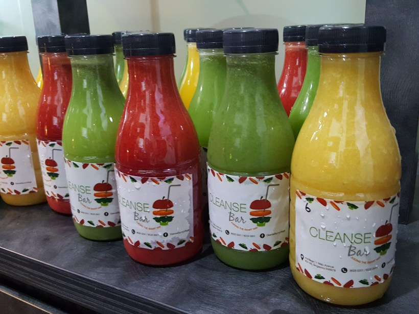 Cleanse Bar At My Village Offering Healthy and Refreshing Cold Press For Detox And Meal Replacement - Cold Press Fruit Juice