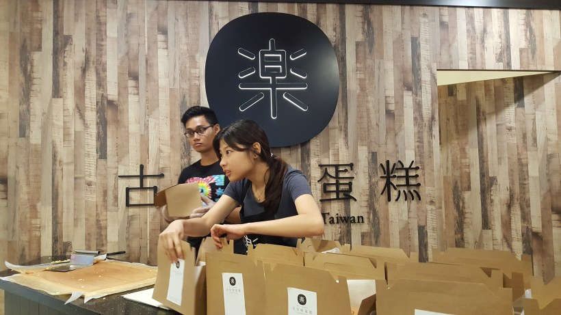 LE Castella Singapore Is Now Found At Tampines One Offering Two Flavours - Counter overview