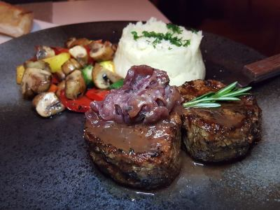 Element Fresh At Jin Qiao, Offering Healthier Option Western Cuisine And Yet Delish - Grilled Beef Fillet