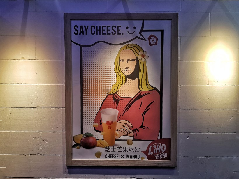 LiHO Cheese Tea! Have You Tried Them Yet? Singapore - LiHO Say Cheese Poster