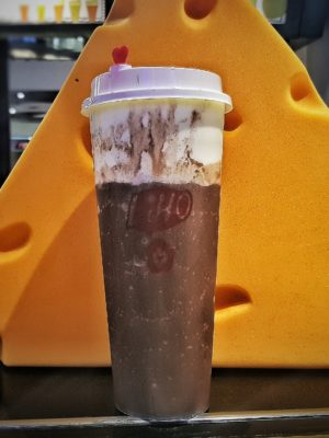 LiHO Cheese Tea! Have You Tried Them Yet? Singapore - Cheese n Choc Smoothie (S$6.90 Nett)