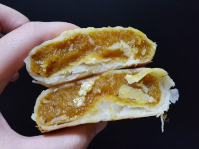 April's Bakery Hailing From Bangkok Offering Sweet Pie At Tampines MRT Station - Pumpkin ($2)