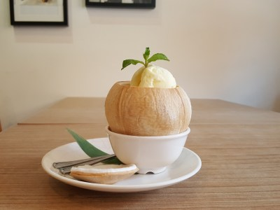 Wan He Lou New 5-Course Weekday Gourmet Lunch Set, Irresistible And Value-For-Money - Coconut Pudding With Ice Cream