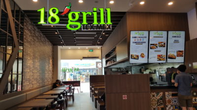 18 Tai Seng Eating Guide On Cafe & Restaurants - 18 Grill