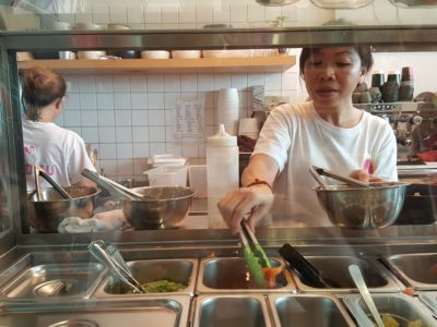 Loloku Poke Bar & Deli At Keong Saik Road, Freshly Marinate Poke Upon Order - Poke Bowl in making