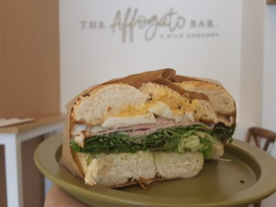 The Affogato Bar Offering Affogato And Bagels At Cluny Court - Breakfast Club ($12.90)