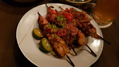 Provisions, A Night Out With Skewers & Claypot Rice Cocktail Bar - Sotong (the best)