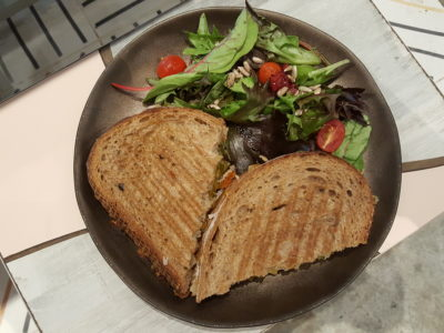 Kara Cafe & Dessert Bar By Sogurt Offering Healthier Option Mains At Bukit Timah - Classic Grilled Cheese ($10.50)