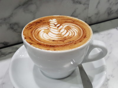 Lunar Coffee Brewers By Folks Of Atlas Coffeehouse At OUE Downtown Gallery - White ($4.50)