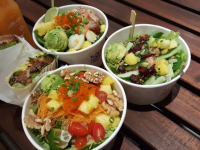 Aloha Poke @ City Link Mall Introducing Pokeritto Exclusive At Their Fifth Outlet - Poke Bowl