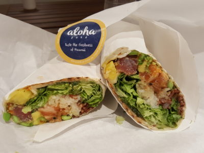 Aloha Poke @ City Link Mall Introducing Pokeritto Exclusive At Their Fifth Outlet - Pokeritto