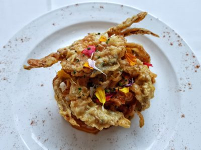 Mandarin Gallery Presents Singapore Food Trail, Somerset Singapore - Chilli Crab Pasta with Soft Shell Crab (S$38++) from Lawry's The Prime Rib