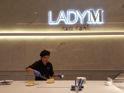 Lady M At Scotts Square, Fourth Boutique, With Exclusive Flavour Mille Crepes Cake - Interior, Counter