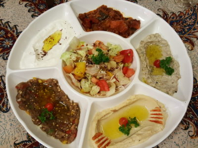 Byblos Grill Offering A Slice Of Lebanese To Singapore At Bussorah Street - Mezza Platter ($27.50)
