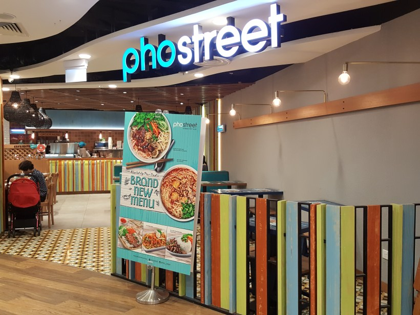 Pho Street New Menu 2017 With Handful Of Spicy Dishes - Facade of Centrepoint Outlet