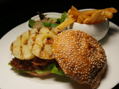 The Bank Bar + Bistro New Menu With One-For-One Promotion - BBQ Pulled Pork Burger ($16.50)