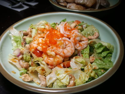 The Bank Bar + Bistro New Menu With One-For-One Promotion - Spicy Prawn Salad ($18)