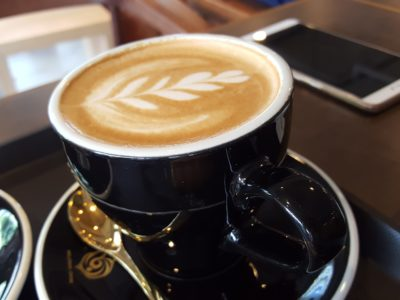 Mellower Coffee @ Bugis, Hail From Shanghai Offering Instagram-worthy Coffee and OOTD Ambience - Cappuccino