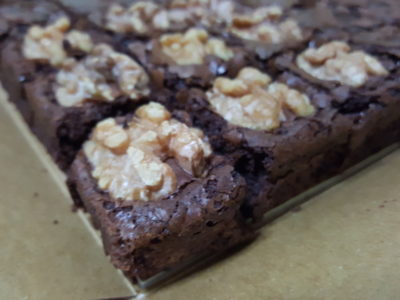Lucia Cakes Brownies, 4 Flavours Or Mixed Box - Chocolate Walnut Brownies