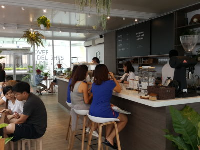 The Glasshouse Specialty Coffee & Toast Bar At Chijmes, Gorgeous Space - A view from a corner