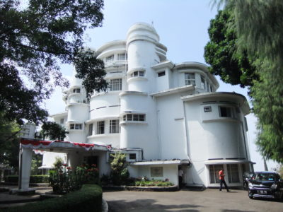 Must Visit Bandung Attractions NAHMJ Recommends - Villa Isola back view