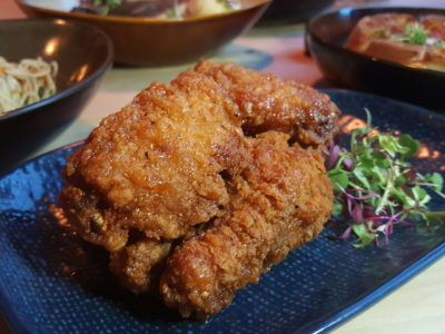 Montana Singapore New Menu For 2017 At PoMo, Getting Better And Better - Fried Chicken Wings with garlic mirin sauce ($12)