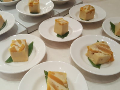 Marriott Cafe Launches Exotic Flavours of Thailand Buffet In Marriott Singapore Tang Plaza For A Limited Period - Pumpkin Pudding