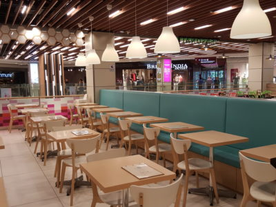 Food Lovers Only At IMM Serving Korean Fusion Items - Interior, another view
